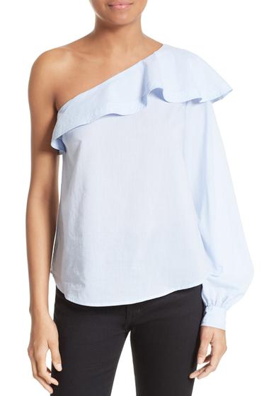 Imbracaminte Femei ALC Brielle Ruffle One-Shoulder Top OXFORD BLU