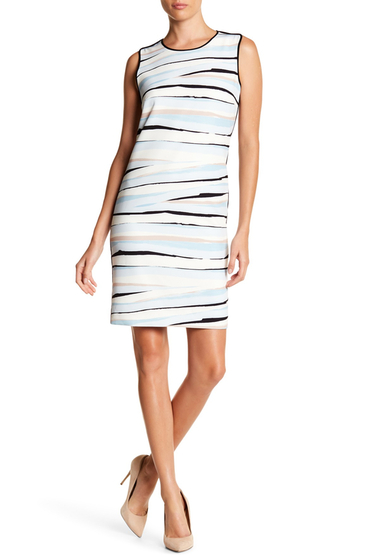 Imbracaminte Femei BOSS Hugo Boss Dipinta Sleeveless Dress MULTI