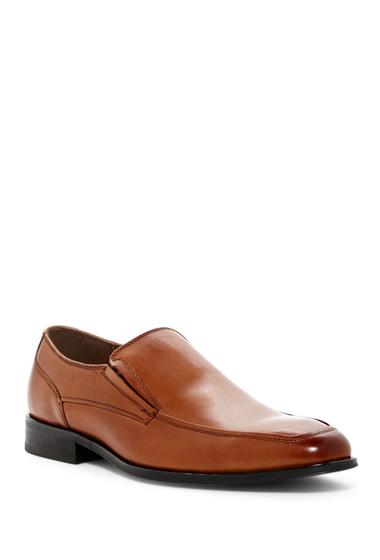Incaltaminte Barbati Steve Madden Dish Leather Loafer TAN LEATHE