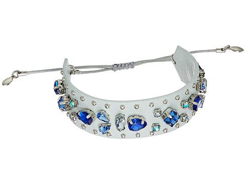 Bijuterii Femei Rebecca Minkoff Jeweled Guitar Strap Bracelet PuttyBlue Multi