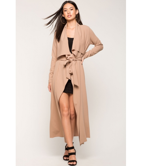 Imbracaminte Femei CheapChic Not Your Average Trench Coat TanStone