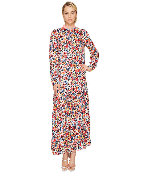 Imbracaminte Femei LOVE Moschino Ankle Length Floral Zip Neck Dress Light Multi Floral