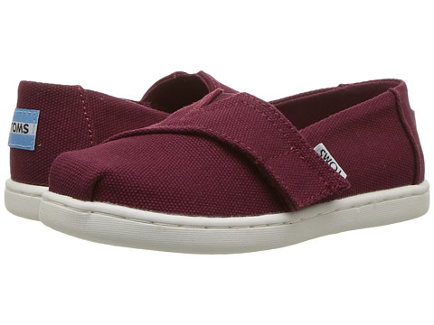 Incaltaminte Baieti TOMS Alpargata (InfantToddlerLittle Kid) Burgundy Canvas