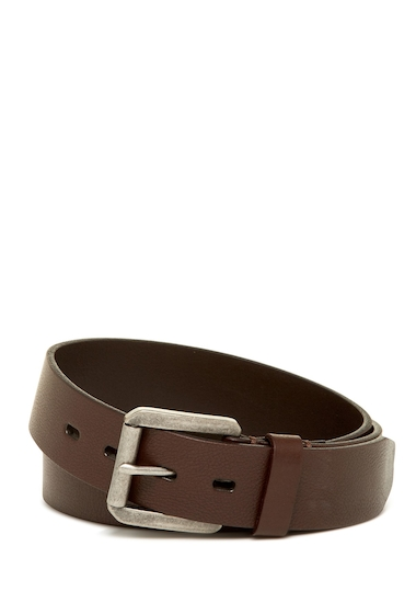 Accesorii Barbati James Campbell Roller Buckle Leather Belt BROWN