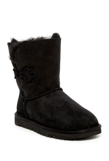 Incaltaminte Femei UGG Bailey Mariko Genuine Sheepskin Boot BLK