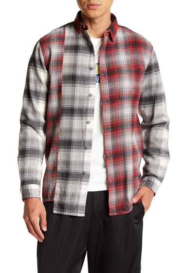 Imbracaminte Barbati TOPMAN Mix and Match Check Casual Regular Fit Shirt MUL