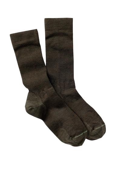 Accesorii Femei Pendleton Solid Trouser Wool Blend Crew Socks GREEN