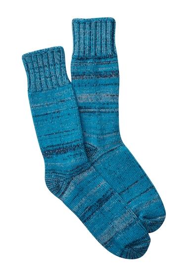 Accesorii Femei Pendleton Marl Crew Socks TURQUOISE