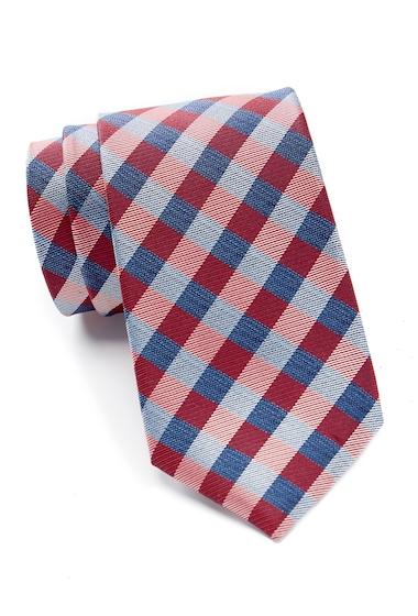 Accesorii Barbati Nautica Vilsandi Square Check Tie RED