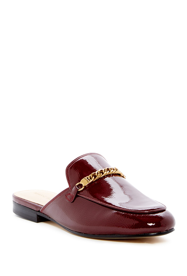 Incaltaminte Femei Marc Fisher LTD Whiley Mule DEEP RED NAPLACK PATENT PU