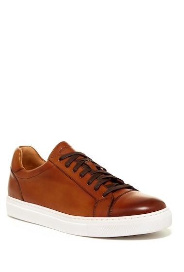 Incaltaminte Barbati Magnanni Wape Leather Sneaker COGNAC