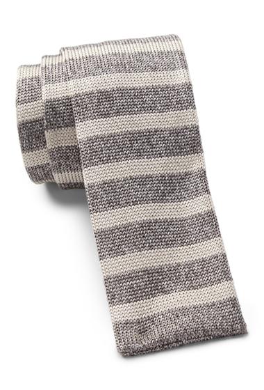 Accesorii Barbati HUGO BOSS Silk Stripe Knitted Tie MEDIUM GREY
