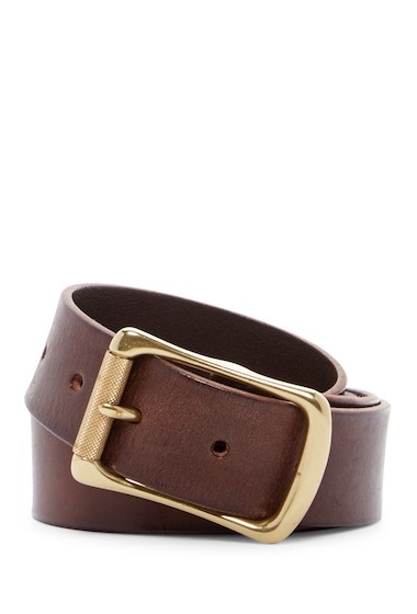 Accesorii Barbati Frye Engineer Leather Belt DARK BROWN