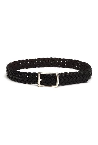 Accesorii Barbati Frye Braided Leather Belt DARK BROWN