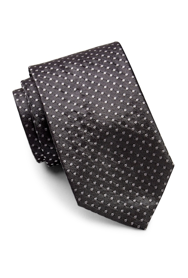 Accesorii Barbati HUGO BOSS Dot Silk Tie MEDIUM GREY