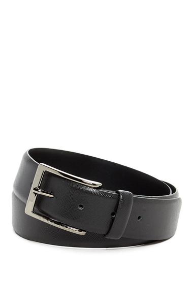 Accesorii Barbati HUGO BOSS Saffiano Leather Belt BLK