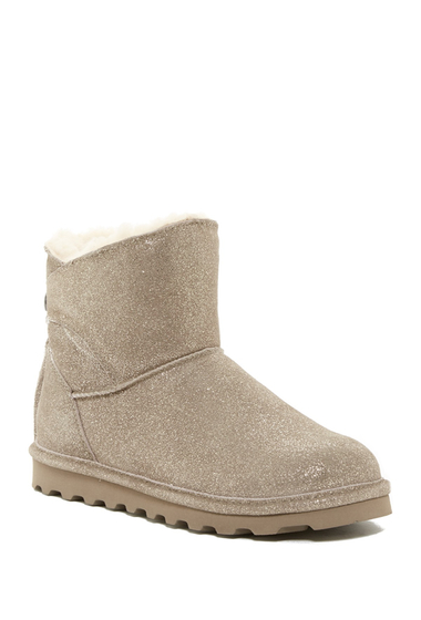 Incaltaminte Femei Bearpaw Natalia Genuine Shearling Lined Boot PEWTER DIS
