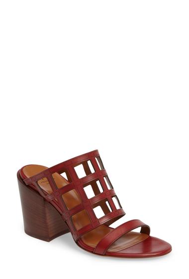 Incaltaminte Femei Aquatalia Federica Caged Mule Sandal RED