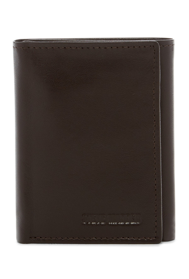 Accesorii Barbati Steve Madden Glove Leather Tri-fold Wallet BROWN