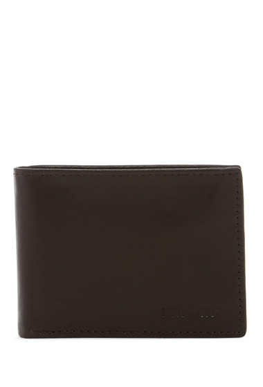 Accesorii Barbati Steve Madden Glove Leather Passcase Wallet BROWN