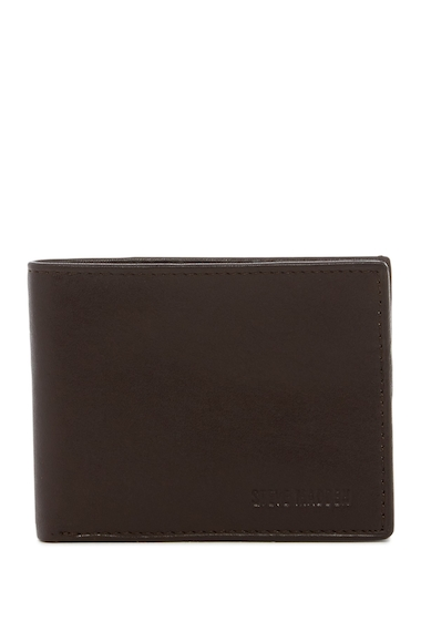 Accesorii Barbati Steve Madden Glove Leather Slimfold Wallet BROWN