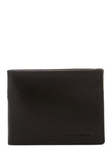 Accesorii Barbati Steve Madden Glove Leather Slimfold Wallet BLACK
