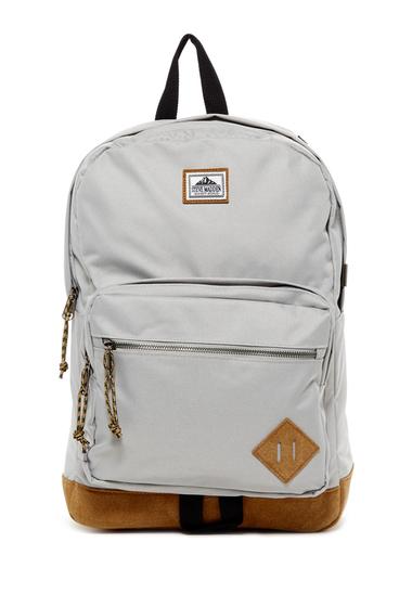 Genti Barbati Steve Madden Solid Classic Sport Backpack LIGHT GREY