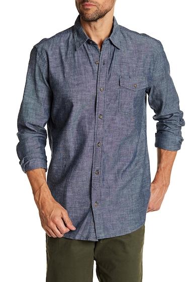 Imbracaminte Barbati Joe Fresh Chambray Standard Fit Shirt BLUE