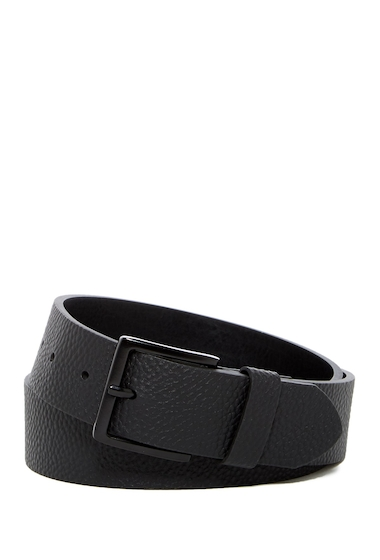 Accesorii Barbati 14th Union Summit Pebble Grain Leather Belt BLACK