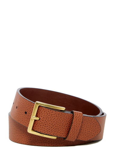 Accesorii Barbati 14th Union Summit Pebble Grain Leather Belt COGNAC
