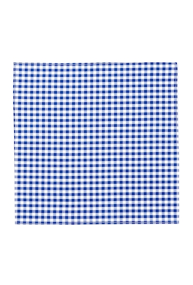 Accesorii Barbati 14th Union Gingham Pocket Square BLUE