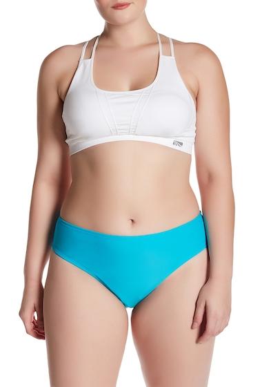 Imbracaminte Femei adidas Solid Start Hipster Bikini Bottoms Plus Size ENERGY BLUE