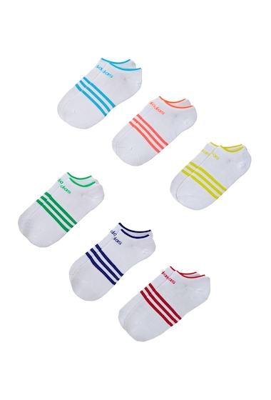 Accesorii Femei adidas No Show Superlite Socks - Pack of 6 Women WHITE