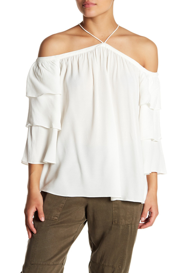 Imbracaminte Femei 1State Cold Shoulder Blouse 103-NEW IVORY