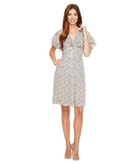 Imbracaminte Femei Rebecca Taylor Short Sleeve Sweet Briar Dress Cream Combo