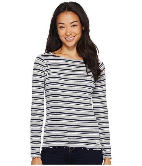 Imbracaminte Femei US Polo Assn Yarn-Dye Long Sleeve T-Shirt Heather Grey