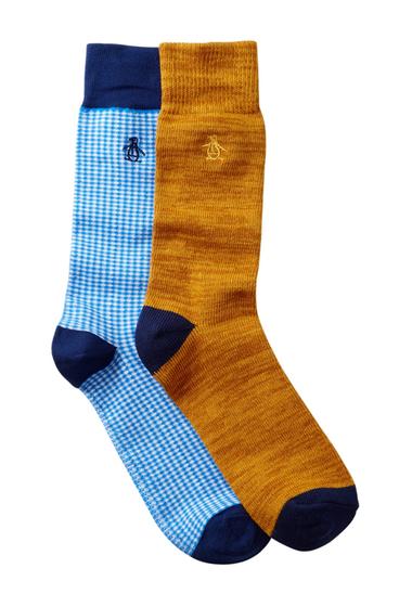 Accesorii Barbati Original Penguin Atrium Lewis Crew Socks - Pack of 2 MULTI