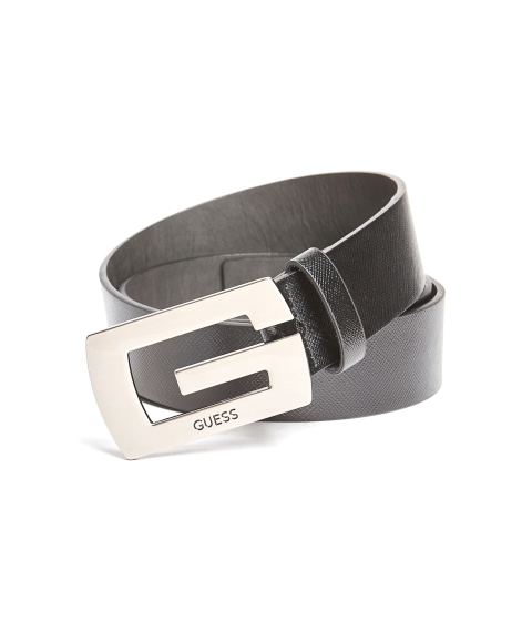 Ochelari Barbati GUESS Saffiano Logo Belt black