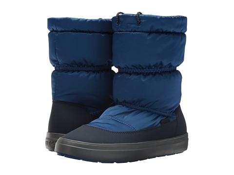 Incaltaminte Femei Crocs Lodge Point Shiny Pull-On Blue JeanNavy