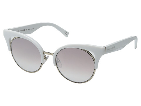 Accesorii Femei Marc Jacobs Marc 215S White with Brown Gradient Mirror Gold Lens