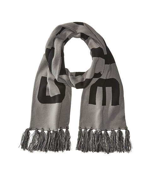 Accesorii Barbati The Kooples Knit Stadium Scarf Charcoal Grey
