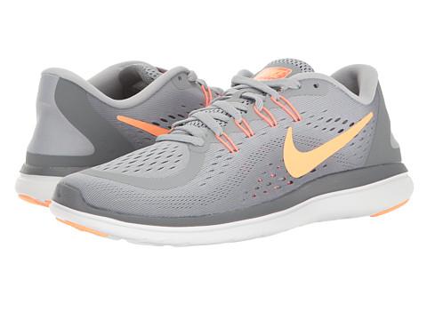 Incaltaminte Femei Nike Flex RN 2017 Wolf GreySunset GlowCool Grey