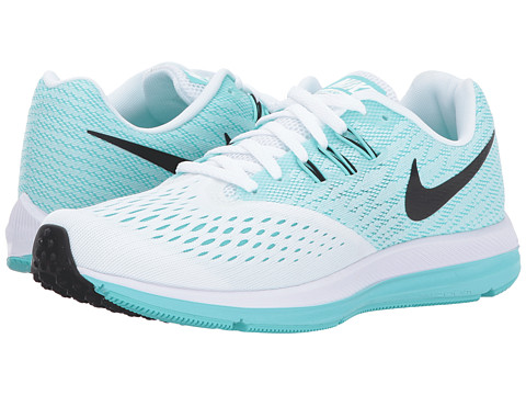 Incaltaminte Femei Nike Air Zoom Winflo 4 WhiteBlackAurora Green