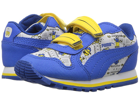 Incaltaminte Fete PUMA Minions ST Runner V (Toddler) Puma WhiteLapis BlueMinion Yellow