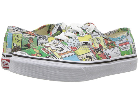 Incaltaminte Fete Vans Authentic x Peanuts (Little KidBig Kid) (Peanuts) ComicsBlackTrue White