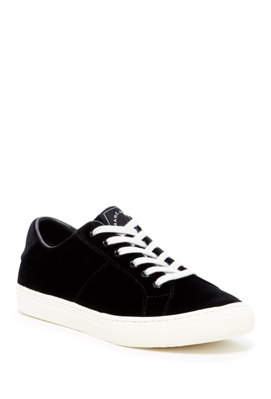 Incaltaminte Femei Marc Jacobs Empire Velvet Low-Top Sneaker BLACK