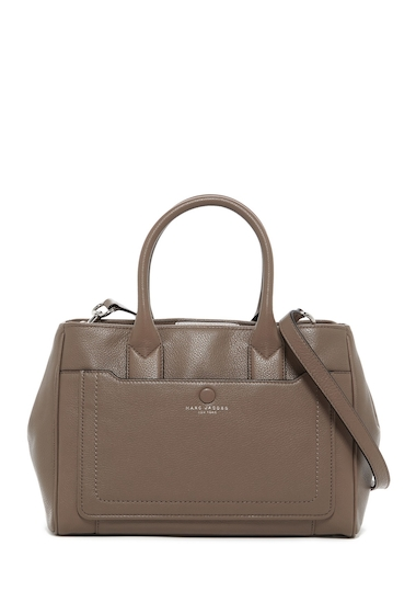 Genti Femei Marc Jacobs Empire City Leather Tote QUARTZ GREY