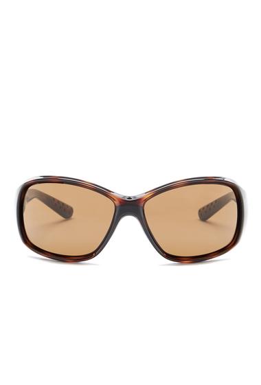 Ochelari Femei Nike Minx 59mm Wrap Sunglasses TORTOISE