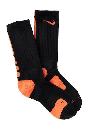 Accesorii Barbati Nike Elite Basketball Crew Socks Men 017 BLACK-TURFOR
