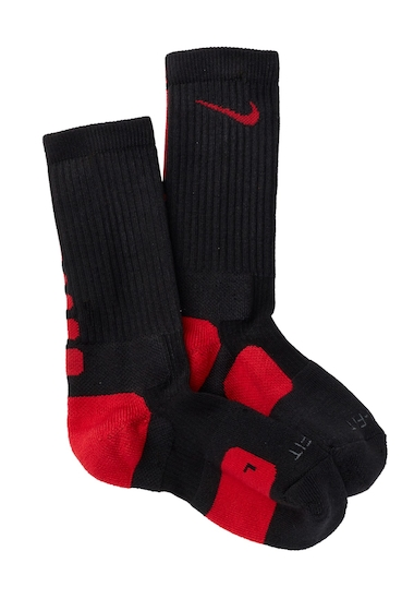 Accesorii Barbati Nike Elite Basketball Crew Socks Women 002 BLK-VAR RED-VAR RED